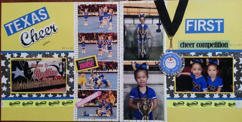 Texas Cheer Academy - K's 1st Competition