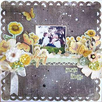 Summer Lovin ~ GDT For My Creative Scrapbook June Kit