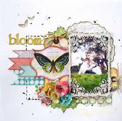 Bloom ~ Pink Paislee Spring Jubilee
