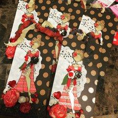 Prima Paper Dolls Valentine's Tag Swap