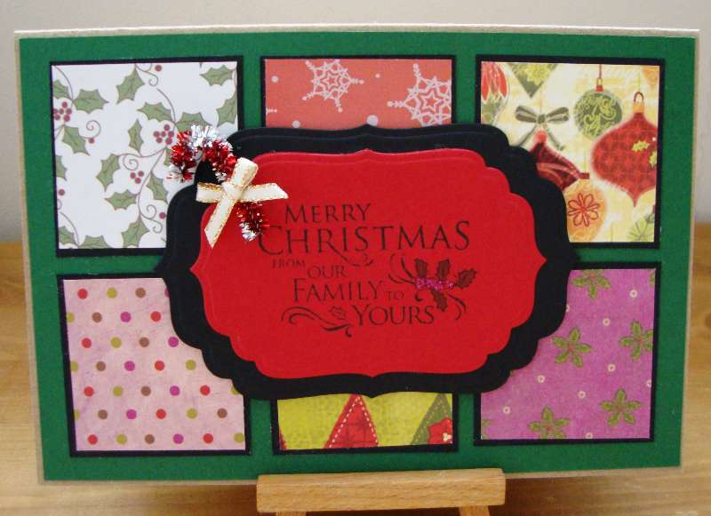 quilt christmas card