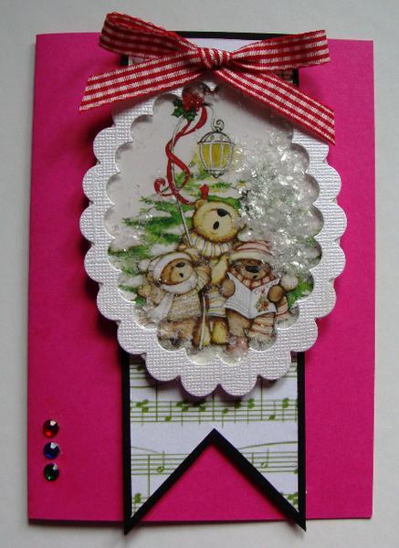 Shaker Christmas Card