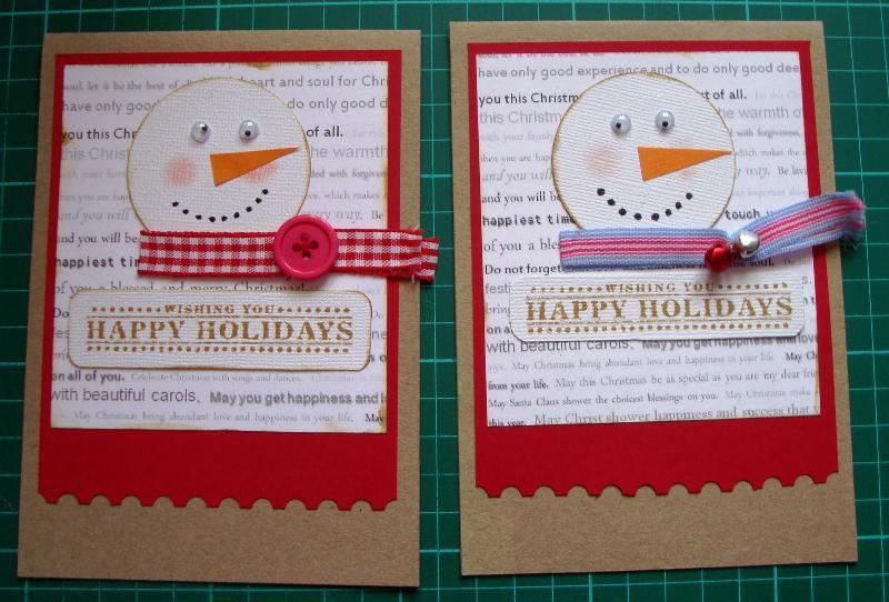 Santa Holiday Cards