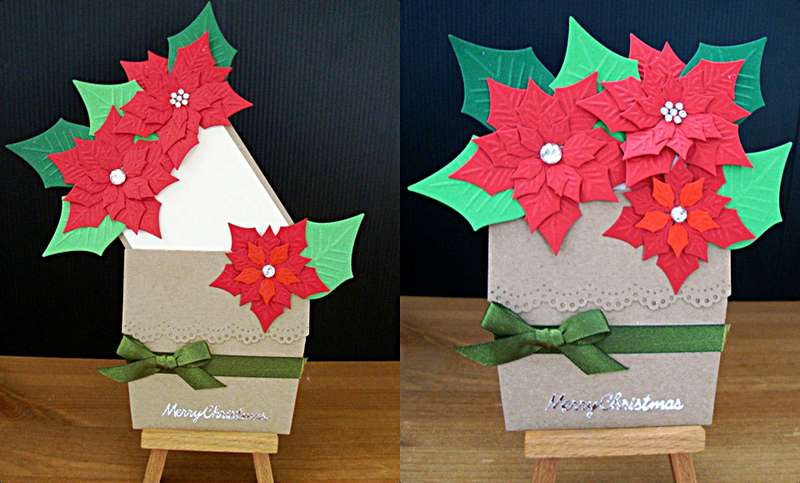Potted Poinsettia Christmas Wishes