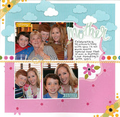 scrapbook com layout projects mother s day