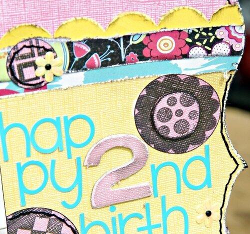Happy 2nd Birthday! *lifting GG Stacy Sattler*