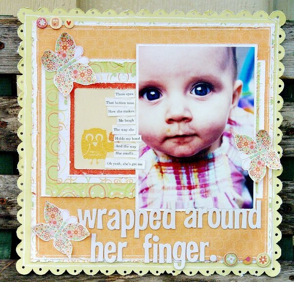Wrapped Around Her Finger