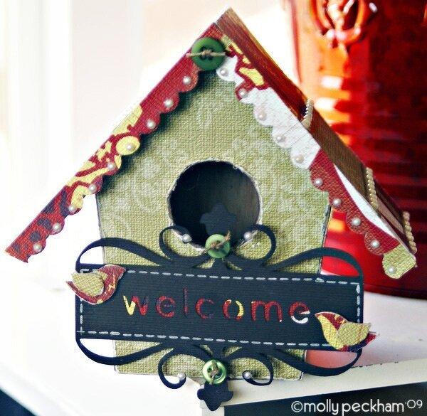 Welcome Bird House *Banana Frog Stamps*