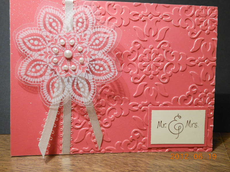 Corral Wedding Card