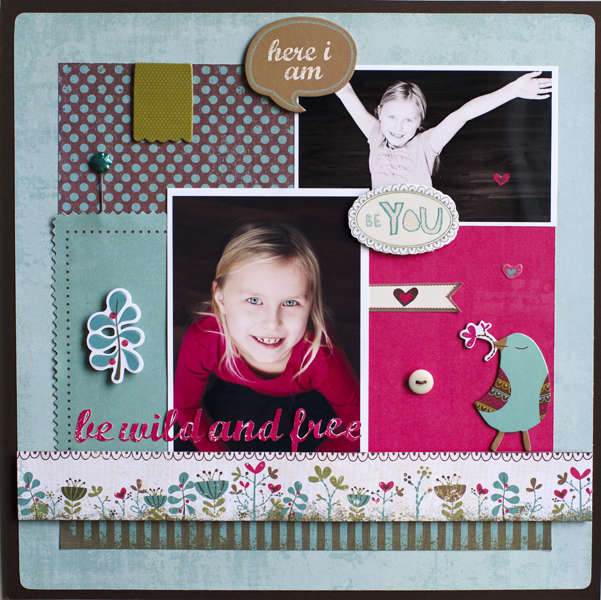 Be You  *** March My Creative Scrapbook Kit