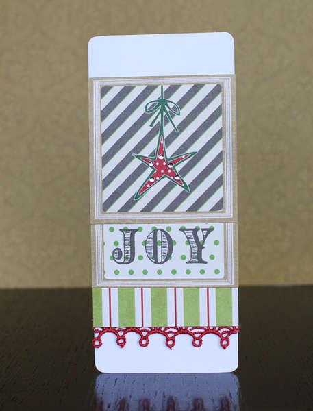 Joy Card ***NEW Webster's Royal Christmas