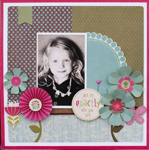 Just Be ***March My Creative Scrapbook Kit