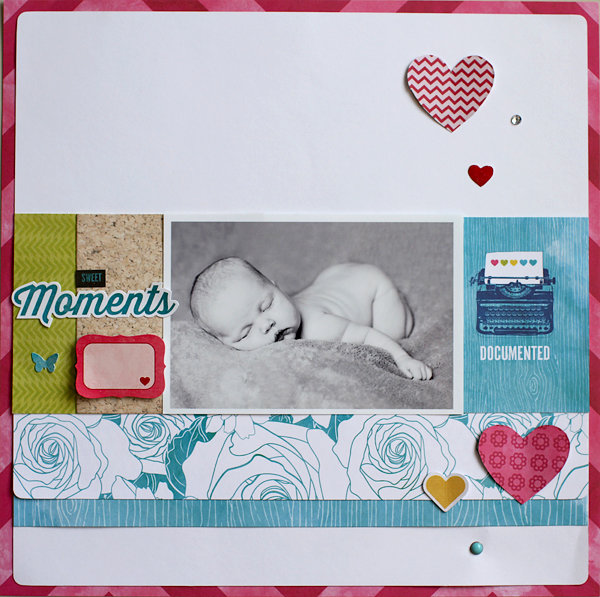 Sweet Moments **My Creative Scrapbook