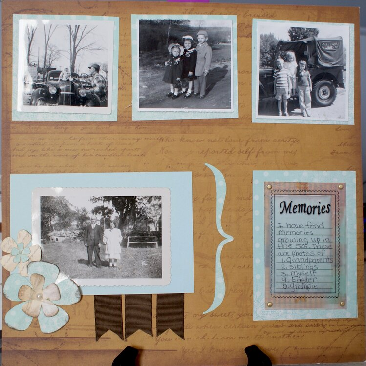 Treasured Memories pg. #2