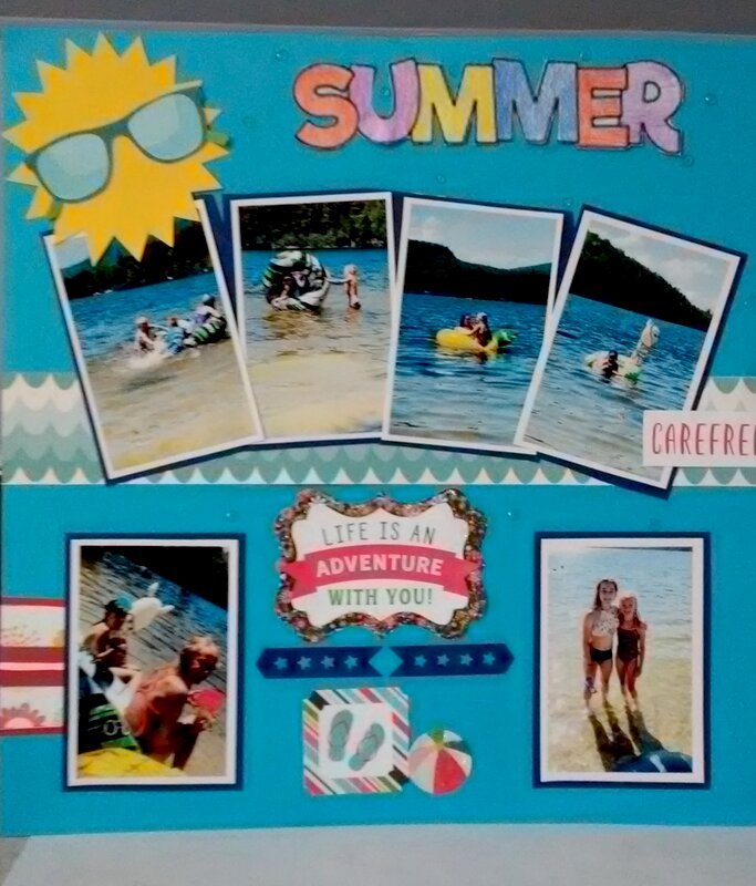 Summer page #1