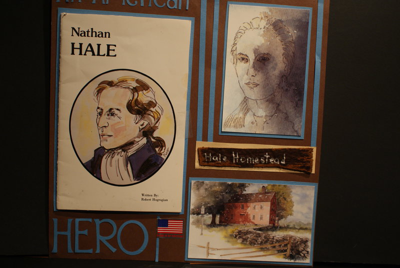 History of Cpt. Nathan Hale
