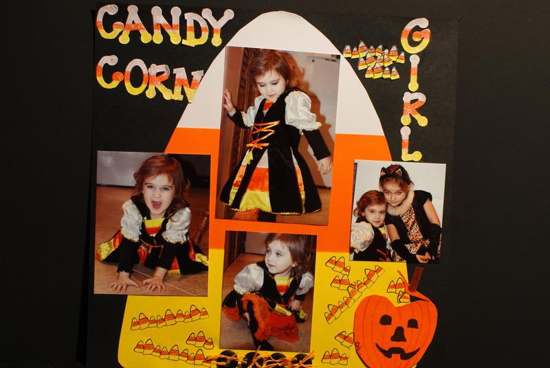 Candy Corn Girl