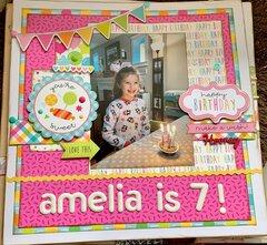 Amelia is 7