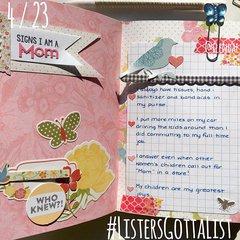 #ListersGottaList - April 23