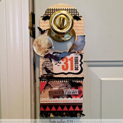 *Halloween Doorhanger*
