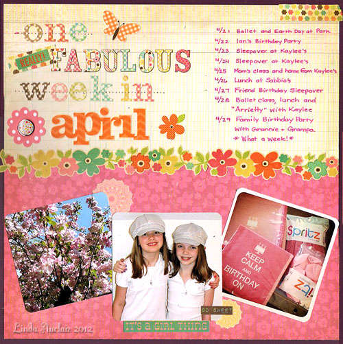 *One Really Fabulous Week*
