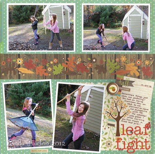 *Leaf Fight!*