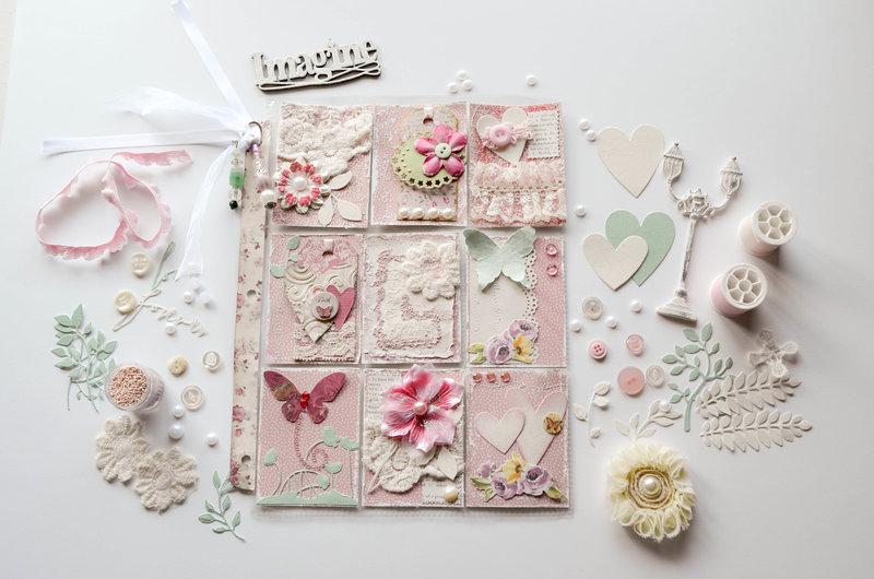 February Shabby Chic/Valentine Pocket Letter for Laura
