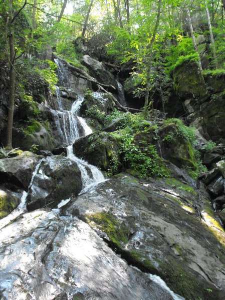 Gatlinburg Tn, Roaring Fork Motor Trail Waterfall