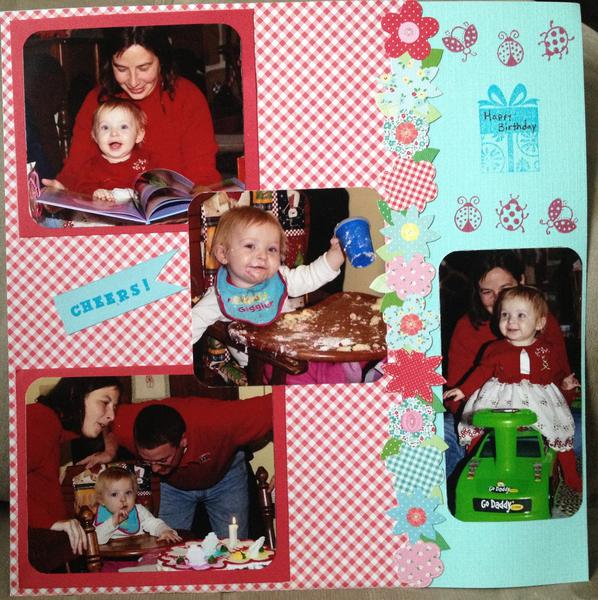 Juliann's first birthday page 2