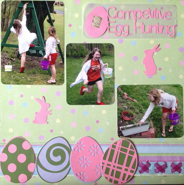 Competitive Egg Hunting