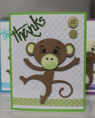Monkey Thank You green
