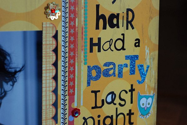 New Product Focus : My Hair had a Party...
