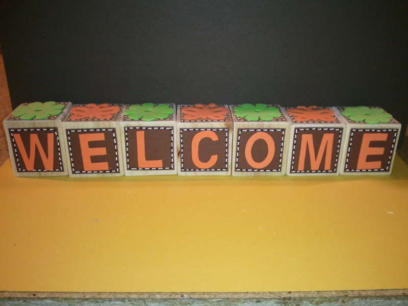 Welcome blocks