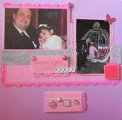 Daddy's Girl - Daddy Daughter Princess Dance (journal card closed)