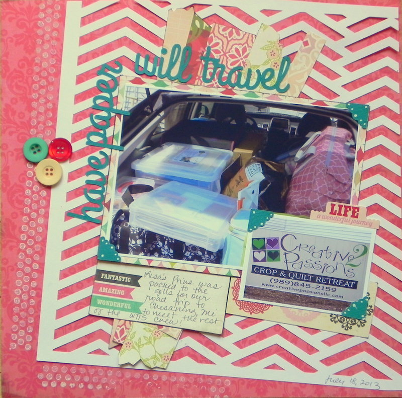 have paper - will travel