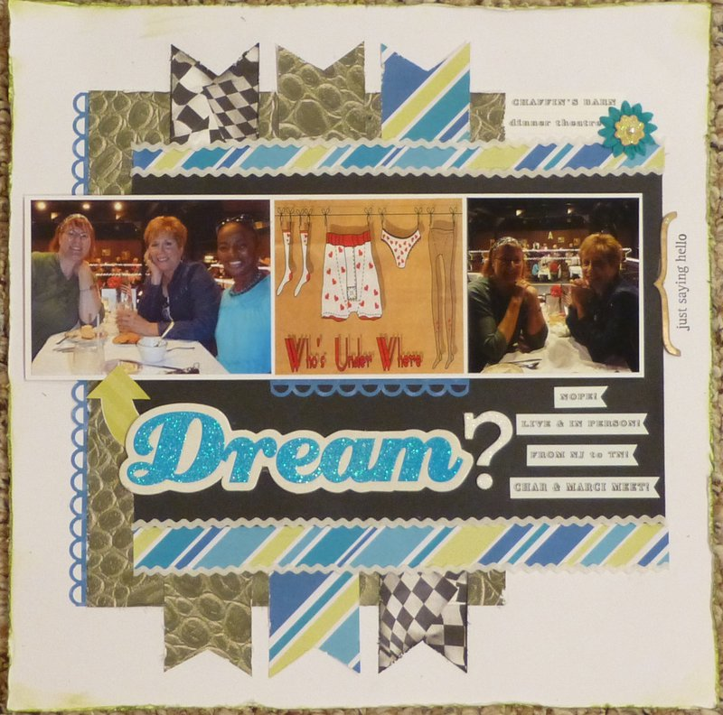 Dream? (Ugly Paper challenge)