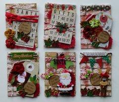 Christmas ATCs- for November