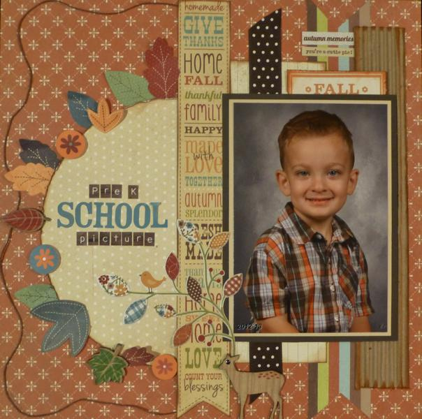 Pre K School Picture (My Creative Scrapbook)