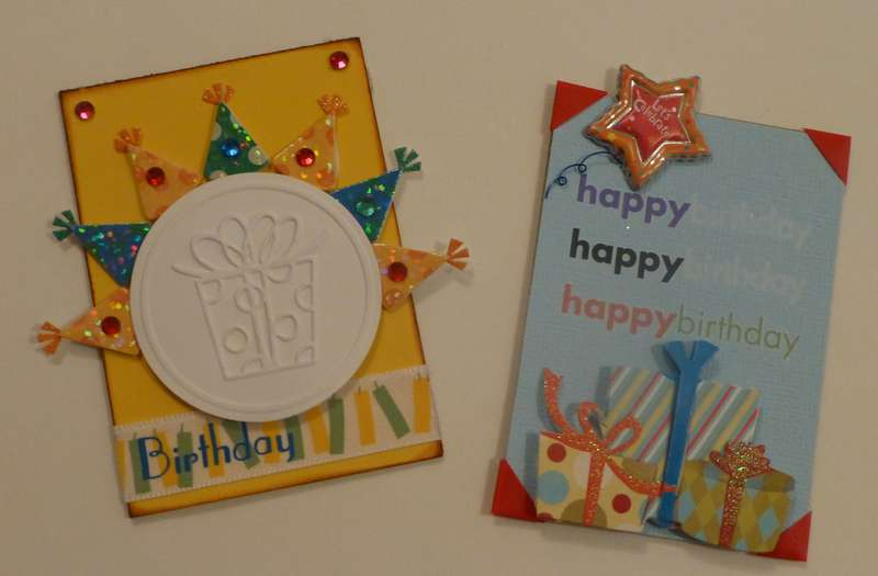 ATC-October Birthdays...