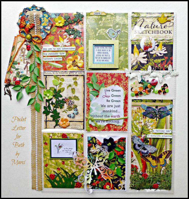 Pocket Letter #2-August Swap-for Beth