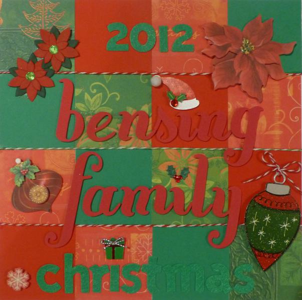 2012 Bensing Family Christmas