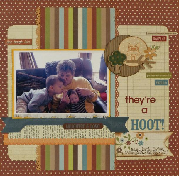 They're a Hoot! (My Creative Scrapbook)