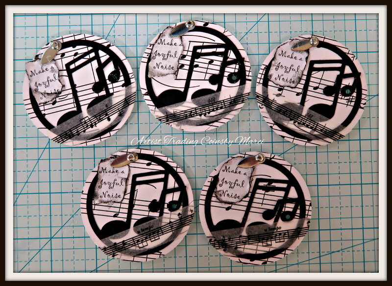 Artist Trading COINS 5 of 5 here