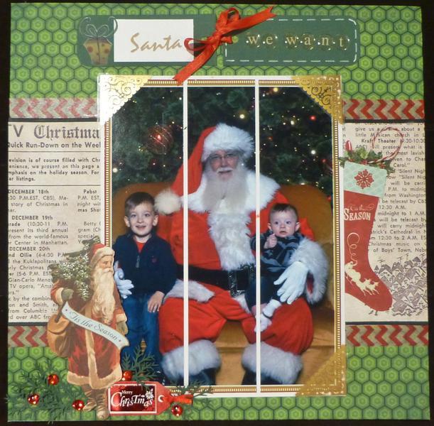 Santa-we want....