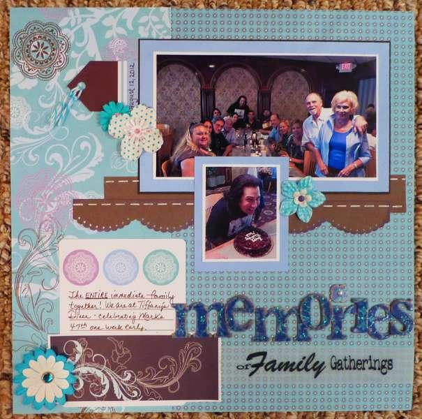 Memories of family gatherings