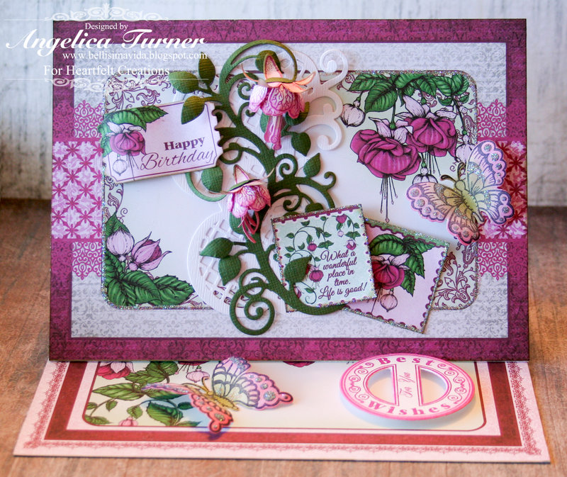 Best Wishes {Heartfelt Creations}