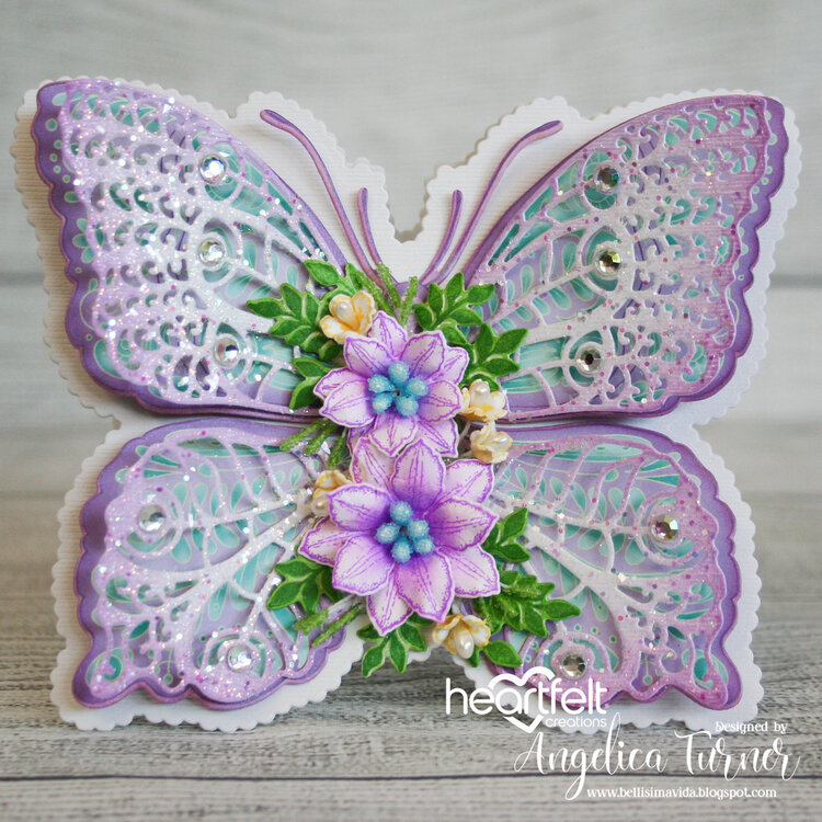 Floral Birthday Butterfly