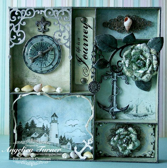 Journey Shadow Box {Heartfelt Creations}