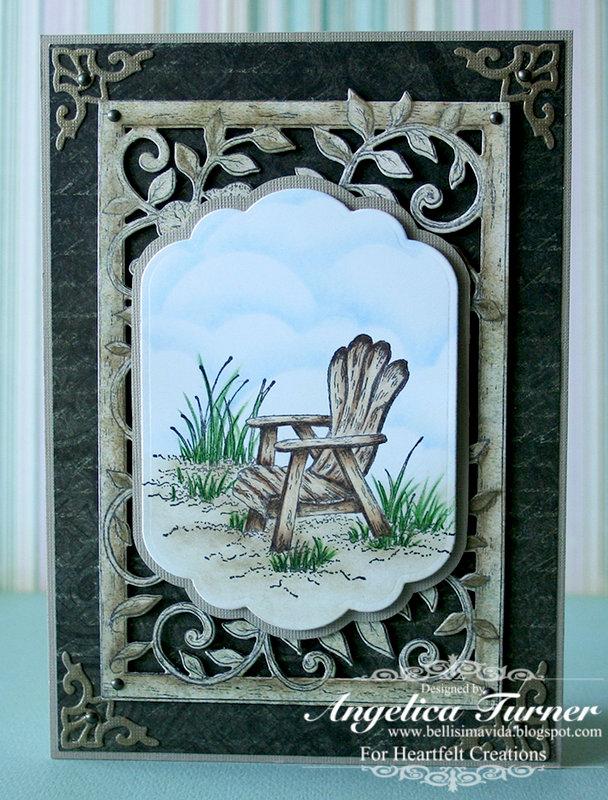 Masculine Card {Heartfelt Creations}