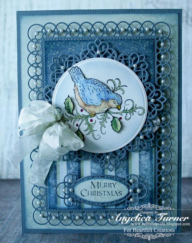 Merry Christmas {Heartfelt Creations}